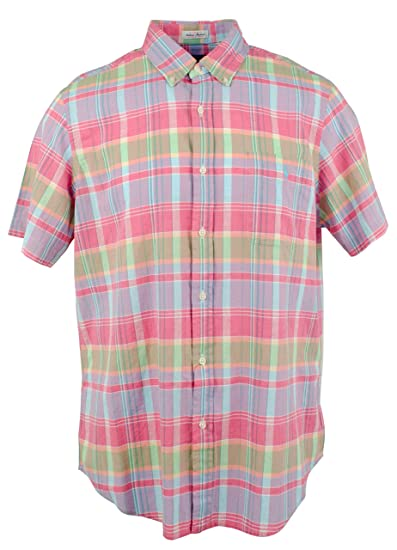 Pelmel Ridere calzini  Buy Polo Ralph Lauren Men's Indian Madras Lightweight Shirt-GP-XXL at  Amazon.in