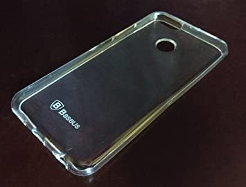 low priced e6726 ec31b Baseus / MI A1 Shockproof Transparent Crystal Clear: Amazon.in ...