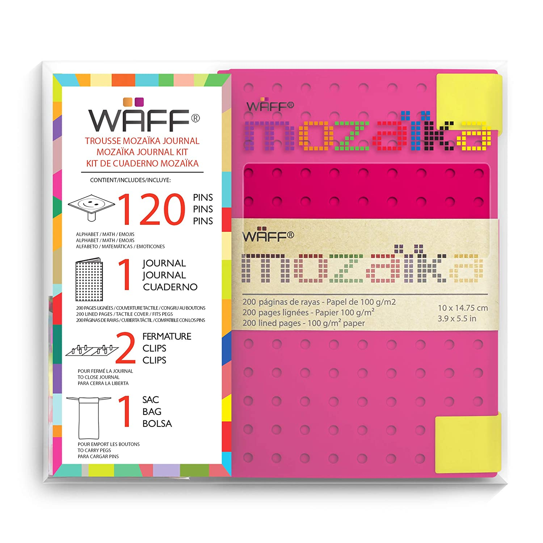 10 x 14,75 cm taglia M M Azul royal Waff Mozaika creativo-Taccuino 200 pagine