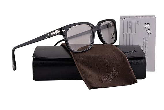 6051742bb7 Amazon.com  Persol PO3131V Eyeglasses 54-18-145 Black 95 PO3131 ...