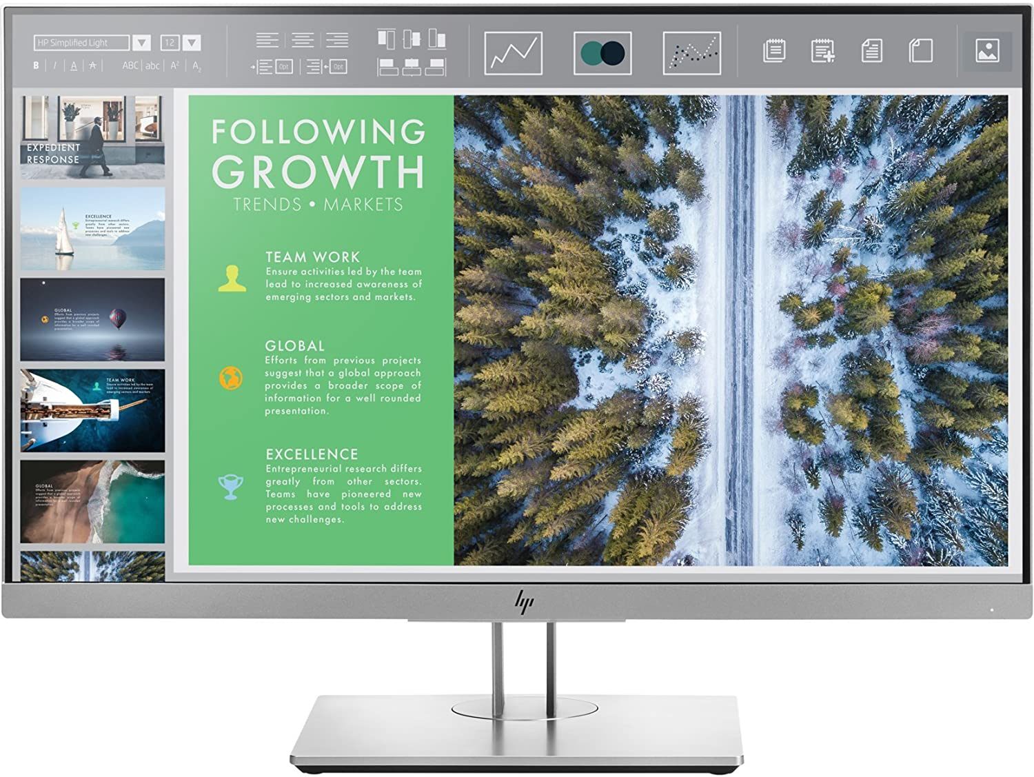 HP EliteDisplay E243 23.8-inch IPS Anti Glare Full HD