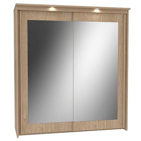Armadio Larghezza 180 Cm.Havnyt Bronte Specchio Armadio Largo 180 Cm 2 Ante