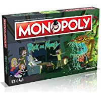 Winning Moves - Rick And Morty Monopol Italian Edition, 036504