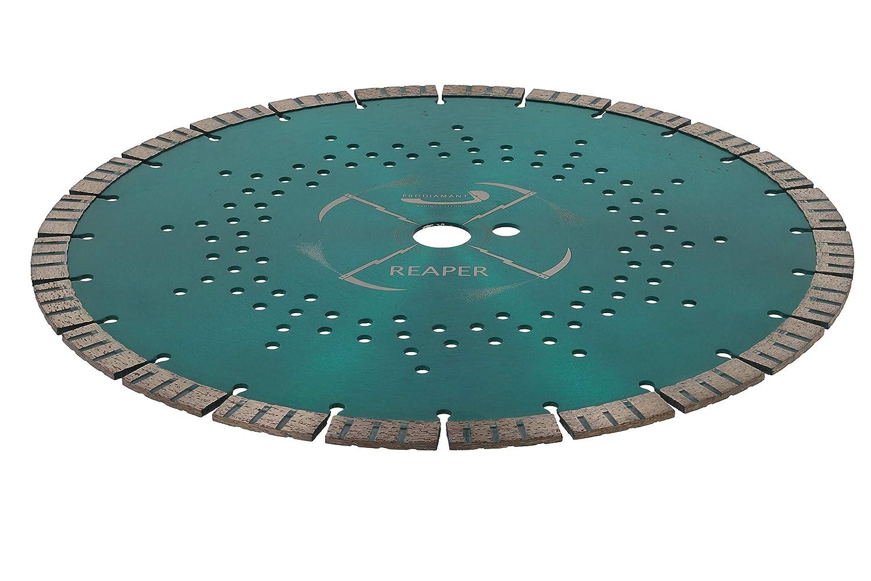 PRODIAMANT REAPER Premium Diamant-Trennscheibe universal 350 mm x 20mm Diamanttrennscheibe 350mm mit Bohrung 20mm