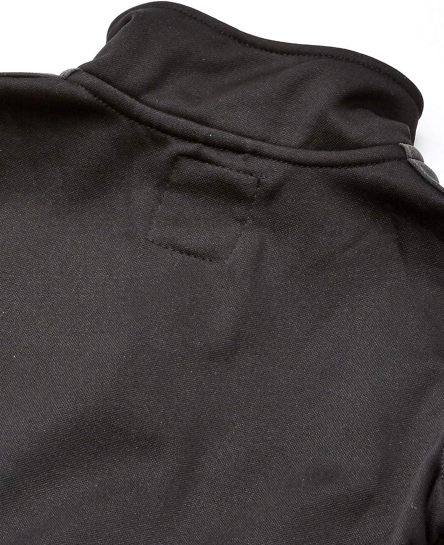 Small Beau Black 8 Nautica Boys Big School Uniform Full-Zip Fleece Jacket