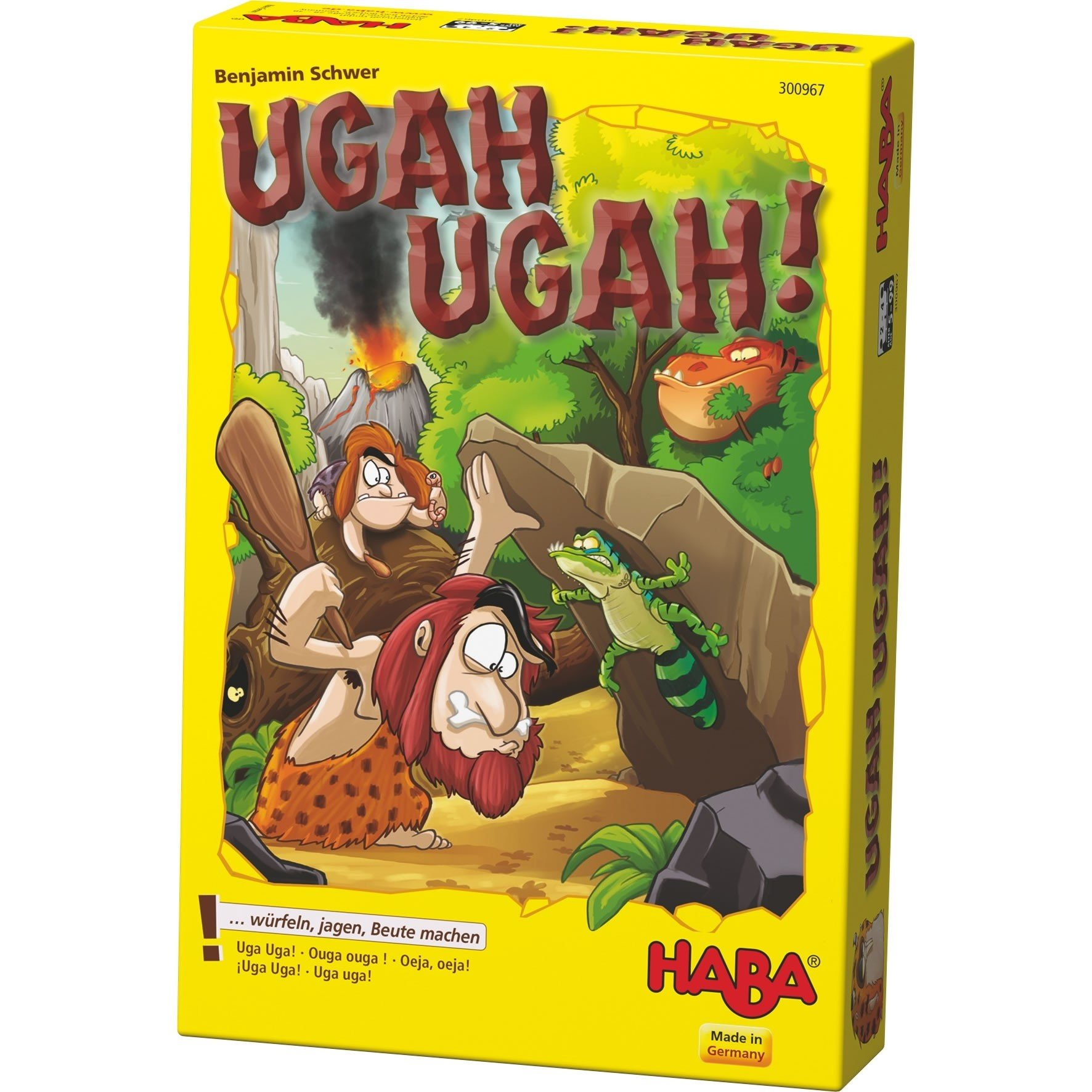 HABA Ugah Ugah! A Prehistoric Dice Game for Ages 5+ (Made in Germany)