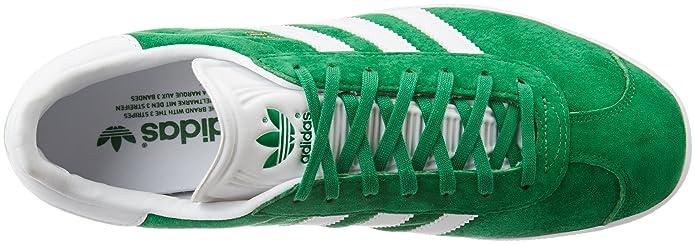 reputable site 0dd67 322c9 adidas Gazelle chaussures, Vert (GreenWhiteGold Met), 36 23 Amazon.fr  Chaussures et Sacs