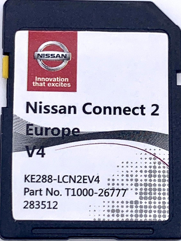 Tarjeta SD GPS Europe 2018 v3 - Nissan Connect 2: Amazon.es: Electrónica