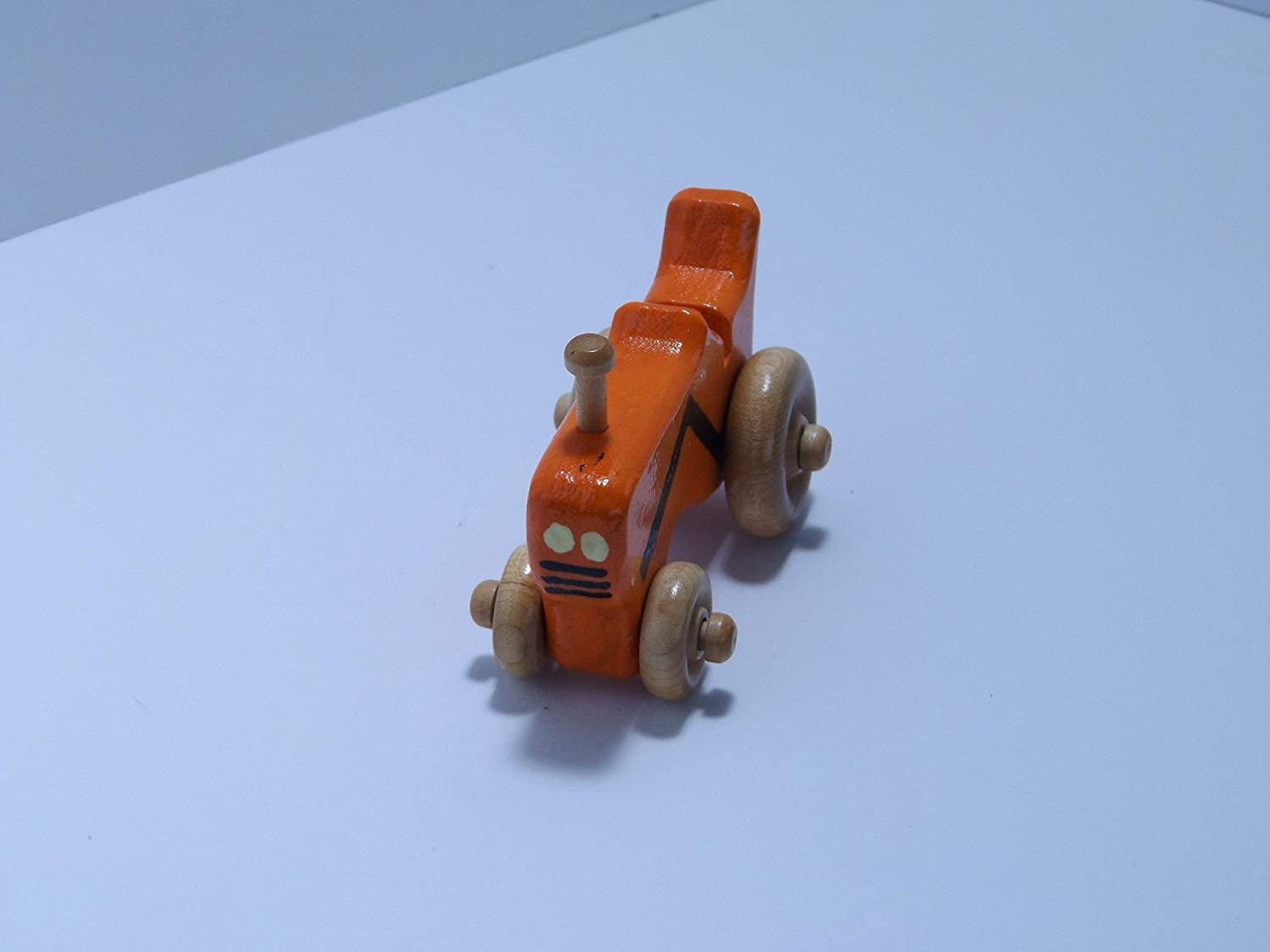 handmade Wooden mini Toy Tractor