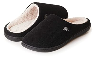 4df2894cdd4 EuropeanSoftest Women s Classic French Terry Lining Slip On 80-D Memory  Foam Slippers Breathable Washable
