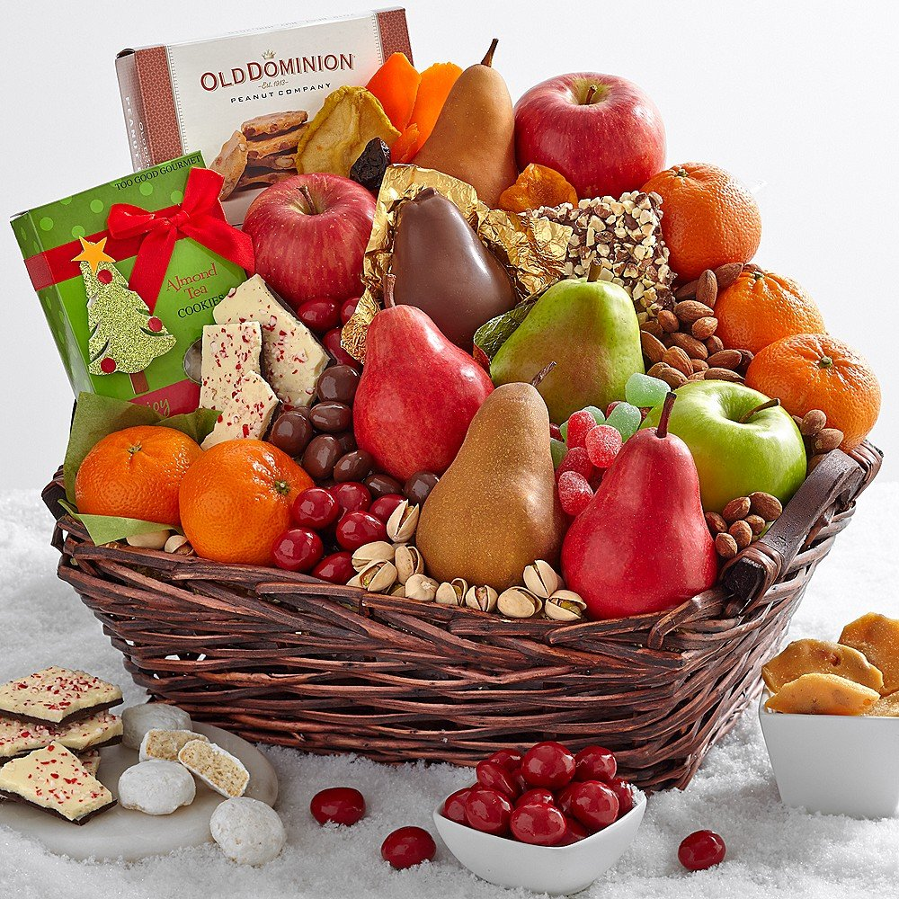 Shari's Berries - The More the Merrier with Happy Holidays Ribbon - 1 Count - Gourmet Baked Good Gifts