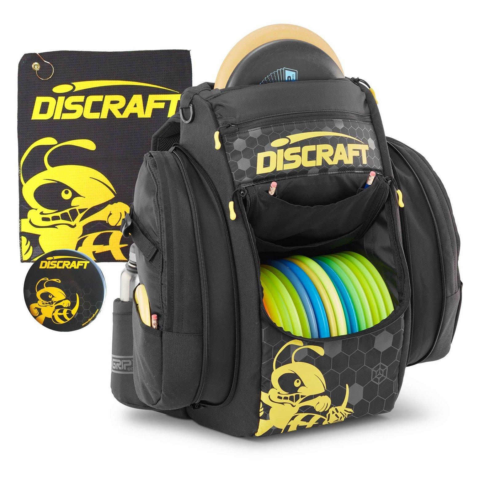 Discraft Grip EQ BX BUZZZ Disc Golf Bag (Coal) by Discraft
