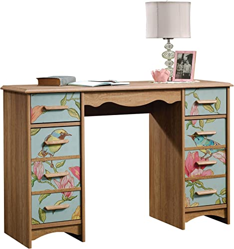 Sauder Eden Rue Desk, Scribed Oak finish