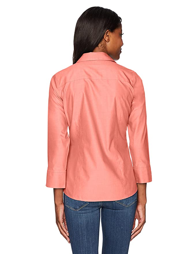 af9038c85 Foxcroft Women's Taylor Essential Non-Iron Blouse at Amazon Women's  Clothing store: Button Down Shirts