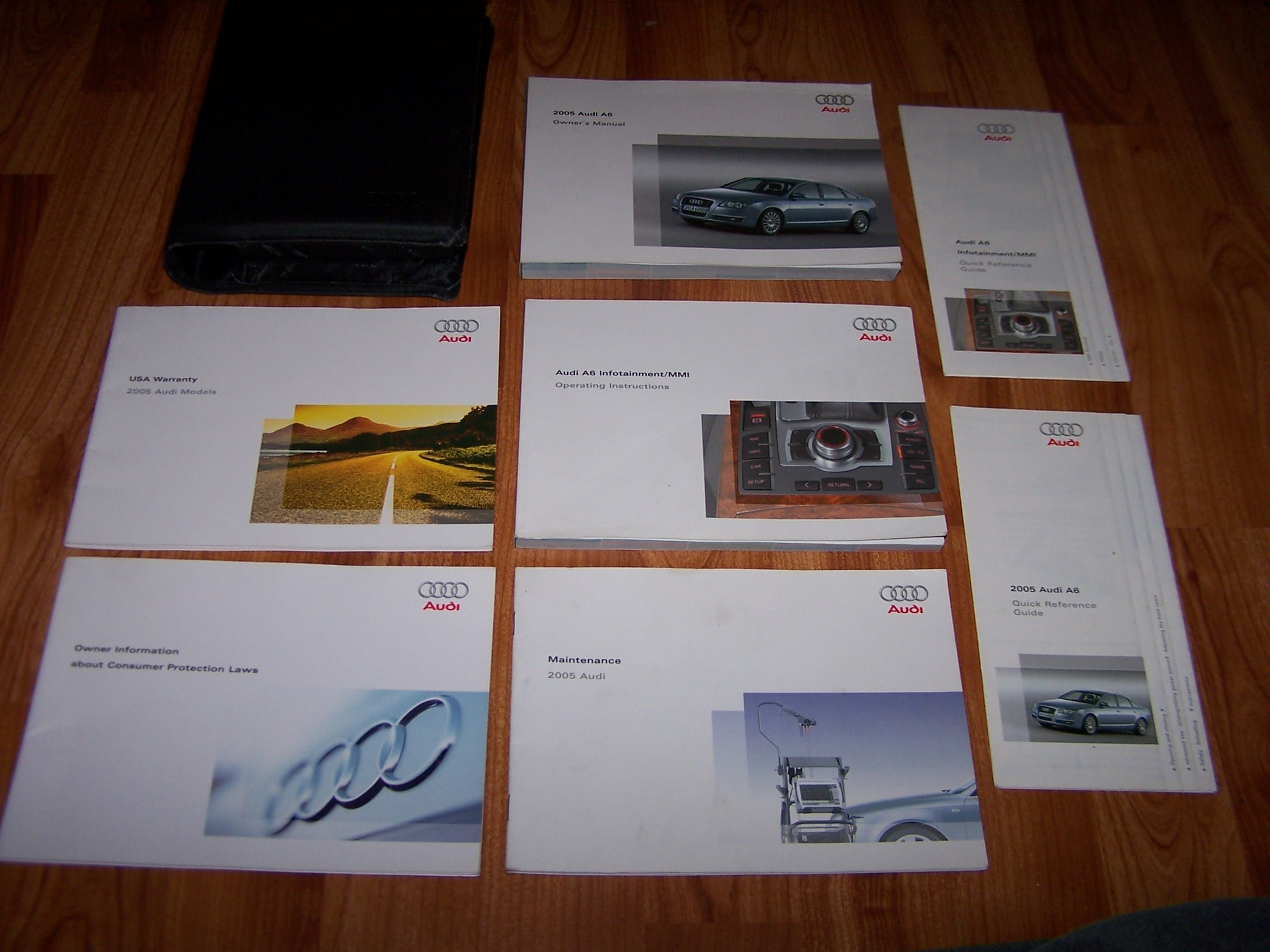 2005 audi a6 a 6 owners manual audi amazon books fandeluxe Choice Image