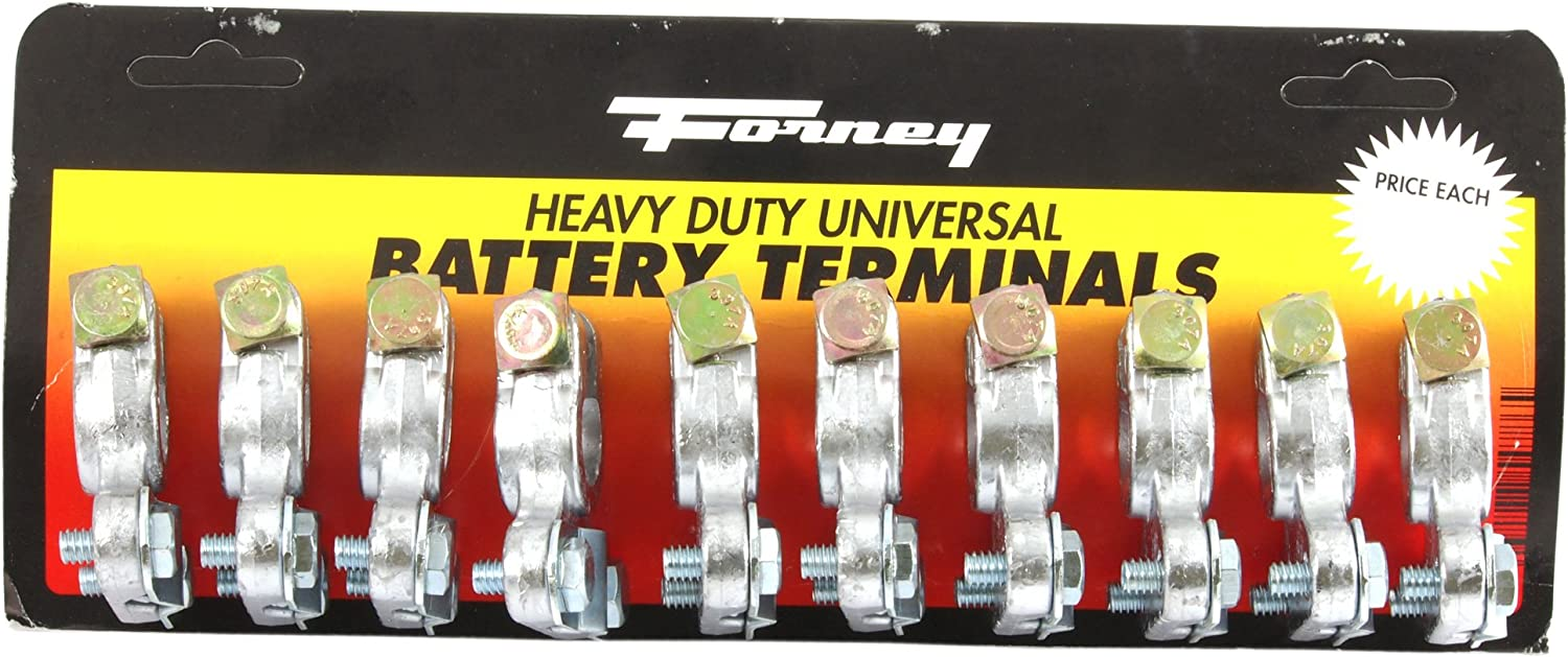 Forney 54786 Terminals Universal Heavy Duty 10//Card