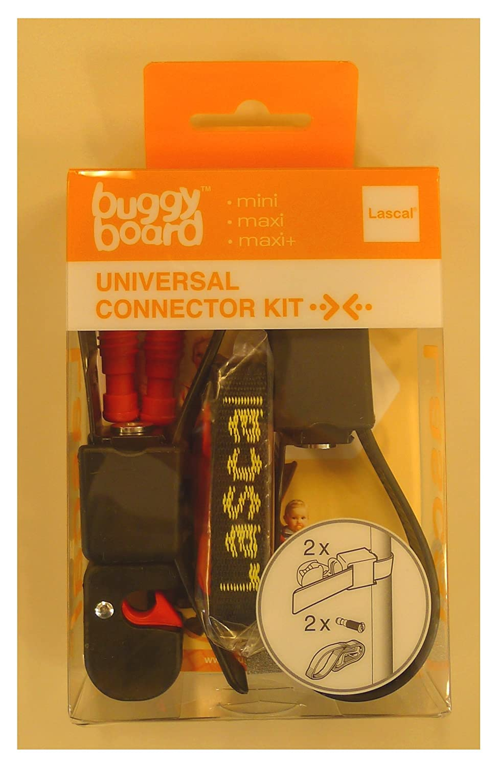 Universal Connector Kit Lascal Buggyboard