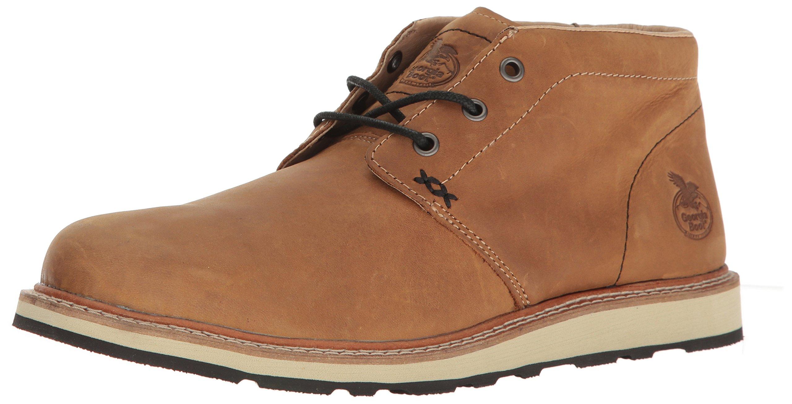 Georgia GB00176 Loafer, Saddle Tan, 11 M US