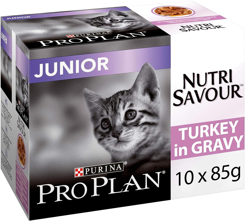 PRO PLAN CAT Comida húmeda de Gato Wet NutriSavour Delicado 850 g ...