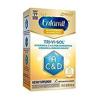 Enfamil Tri-Vi-Sol Liquid Vitamins A, C & D Supplement for Infant, 50 mL dropper...