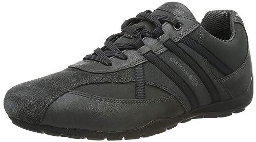 0be861f11db68 Geox - Geox Ravex Zapatos Deportivos Hombre Azul  Geox  Amazon.es  Zapatos  y complementos