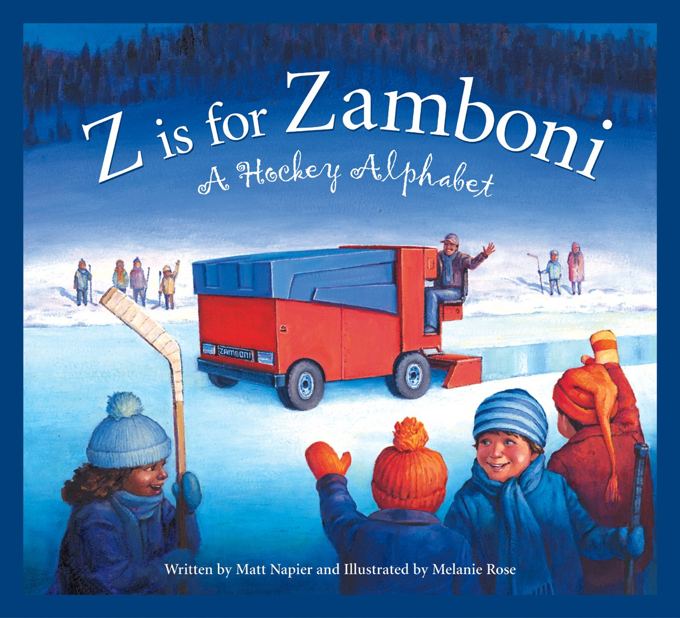Download Z is for Zamboni: A Hockey Alphabet (Sports) pdf