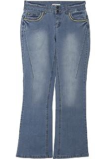 c82bad345a Sheego Jeans Bootcut Boot Cut Damen Hose Stretch Plusgröße Kurzgröße  Langgröße