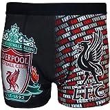 Liverpool F.C. - Bóxers para hombre, diseño de equipo Liverpool, color gris