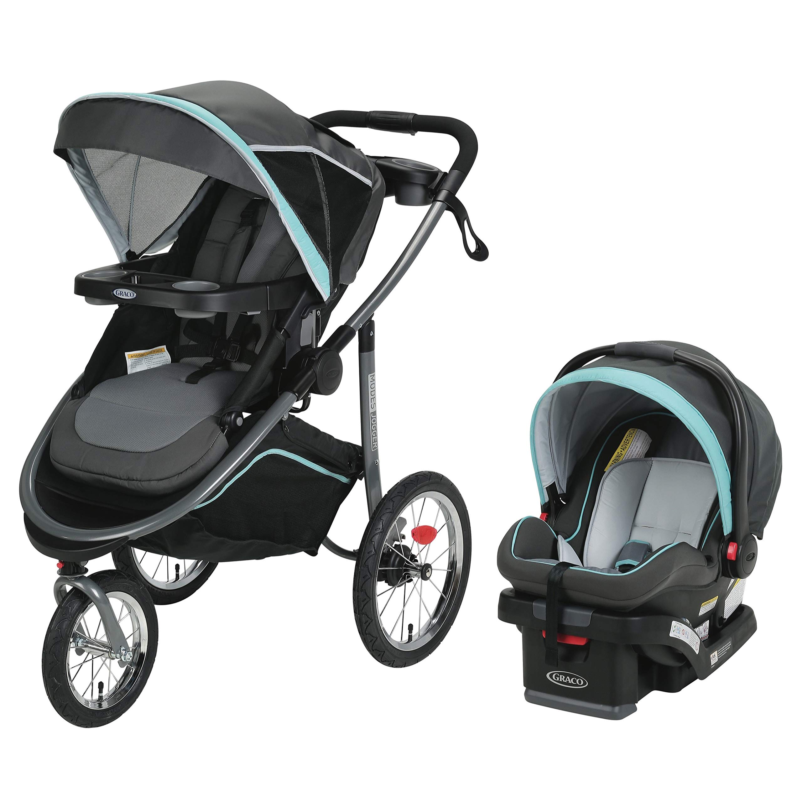 Graco Modes Jogger Travel System | Includes Modes Jogging Stroller and SnugRide SnugLock 35 LX Infant Car Seat, Tenley by Graco