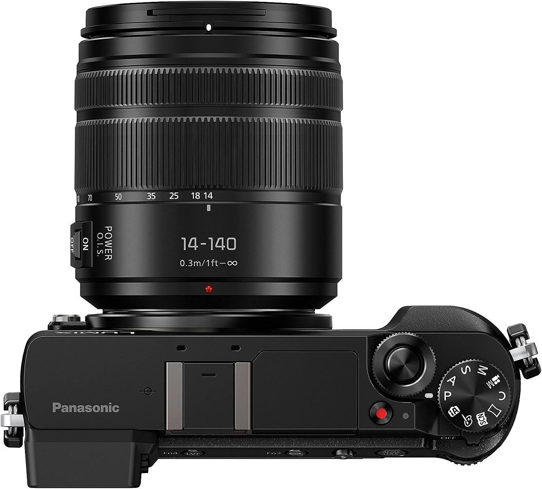 Panasonic DMC-GX80HEFK Appareil photo DSLM 16,84 Mpix Noir//Argent//Marron Version /étrang/ère