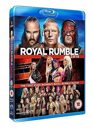 Amazon com: WWE: Royal Rumble 2018 [Blu-ray]: Movies & TV