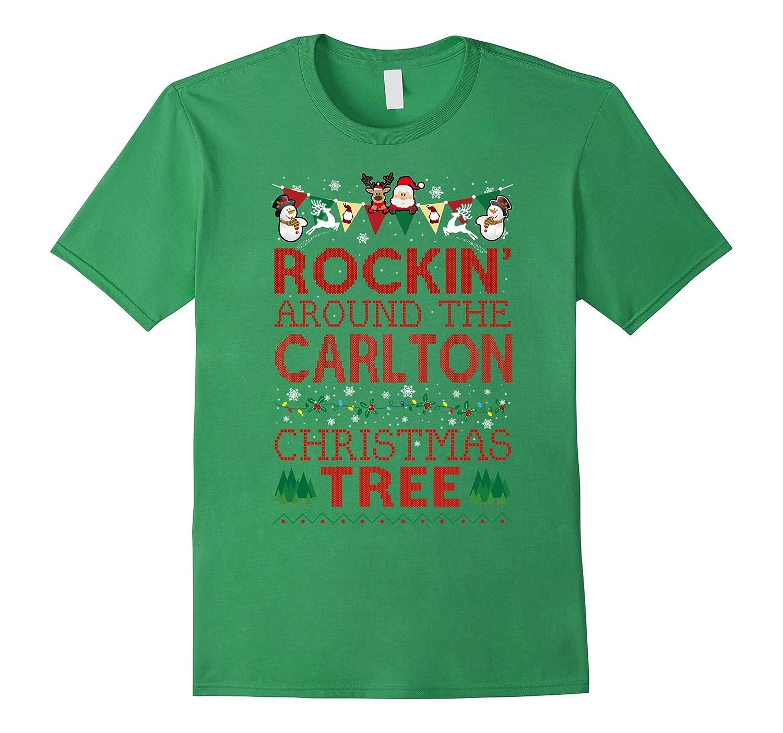 Carlton Family Christmas T-shirt-RT