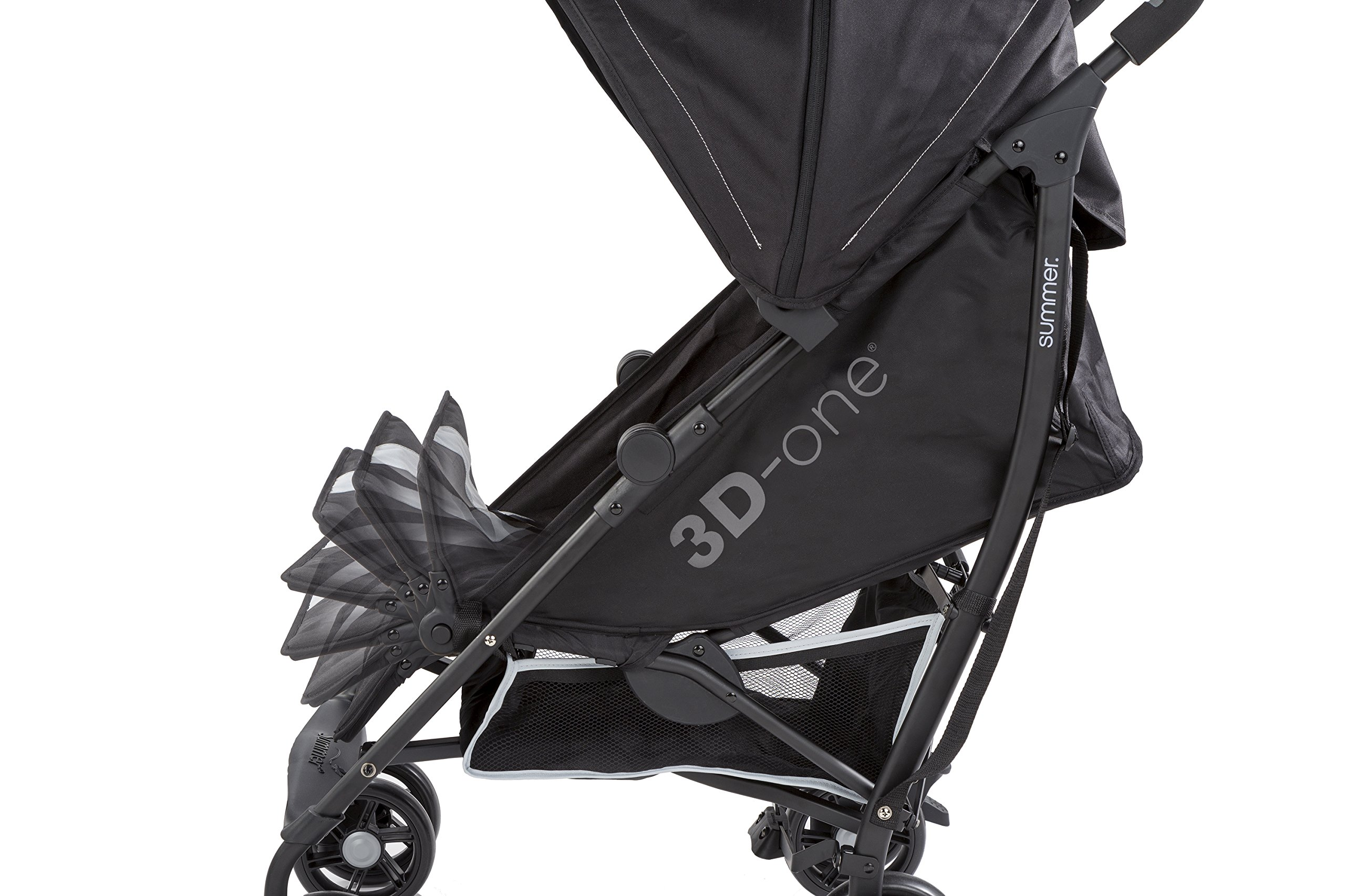 Summer Infant 3D-one Convenience Stroller, Eclipse Gray by Summer Infant (Image #5)