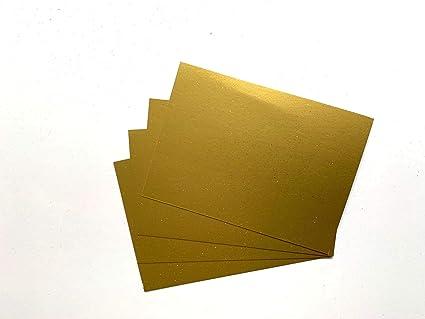 House of Card & Paper - Tarjetas de papel con purpurina (A3, 240 g ...
