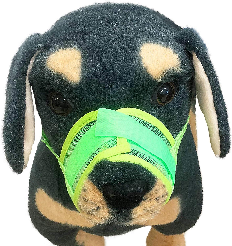 YAODHAOD Nylon Mesh Atmungsaktiv Hund Mund Screaming Bei/ßen zu verhindern versehentliches Essen zu verhindern Pet Maulk/örbe