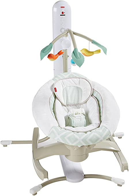 Amazon.com: Fisher-Price 4-in-1 Smart Connect Cuna n ...