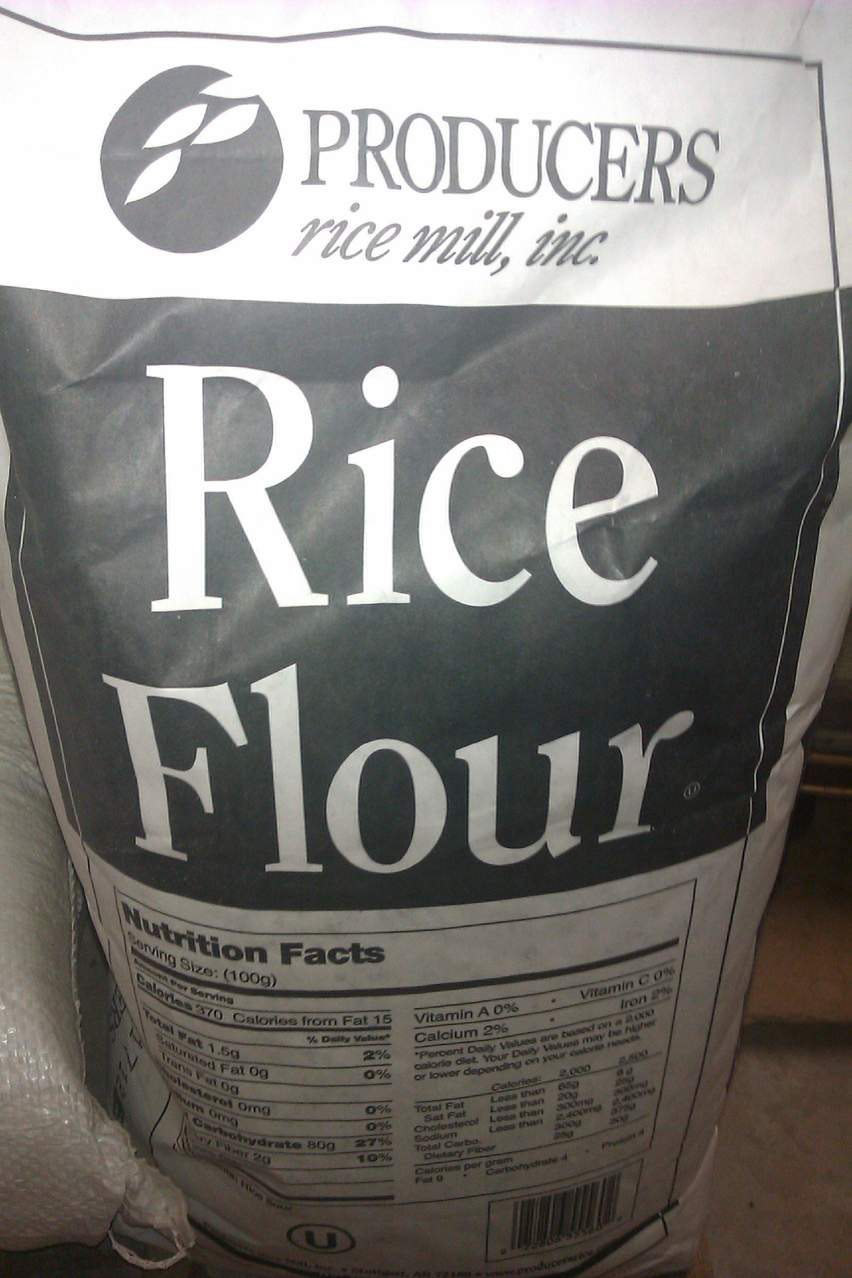 Rice Flour 25lbs