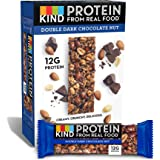 KIND Protein Bars, Double Dark Chocolate Nut, Gluten Free, 12g Protein,1.76 Ounce (12 Count)