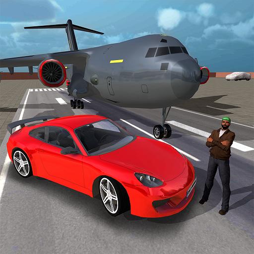 Airplane Car Transporter Game -Plane Transport Simulator Game