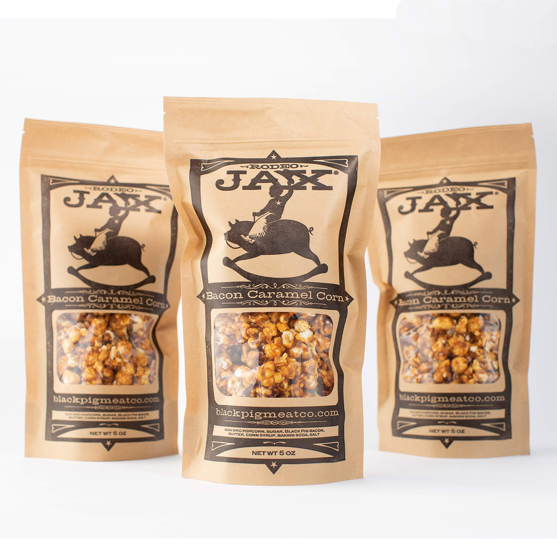Bacon Caramel Corn - Black Pig Meat Co. Rodeo Jax by Black Pig Meat Co.