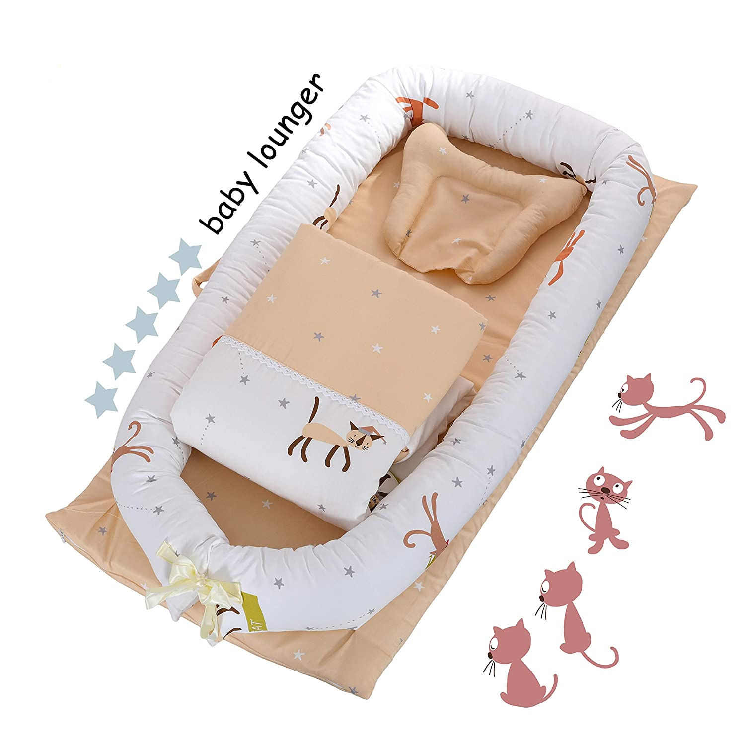 Top 10 Best Baby Lounger Pillow (2020 Reviews & Buying Guide) 4