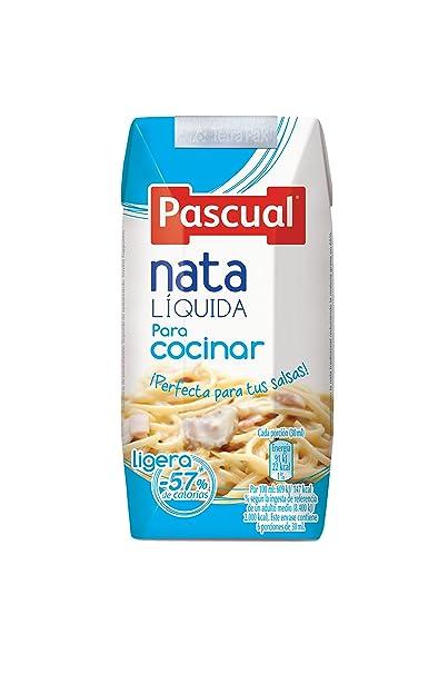 Pascual Nata Líquida Ligera para Cocinar - 200 ml