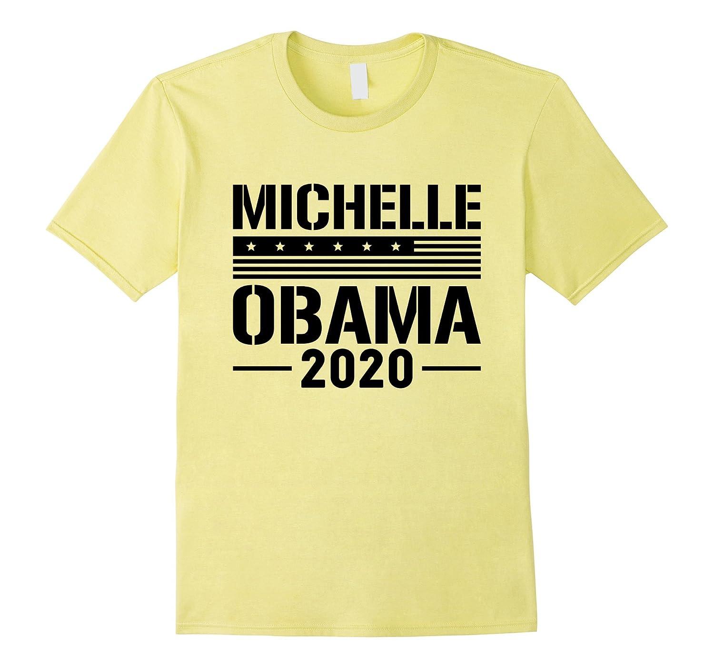 Michelle Obama 2020 For President Unisex Black Print T-Shirt