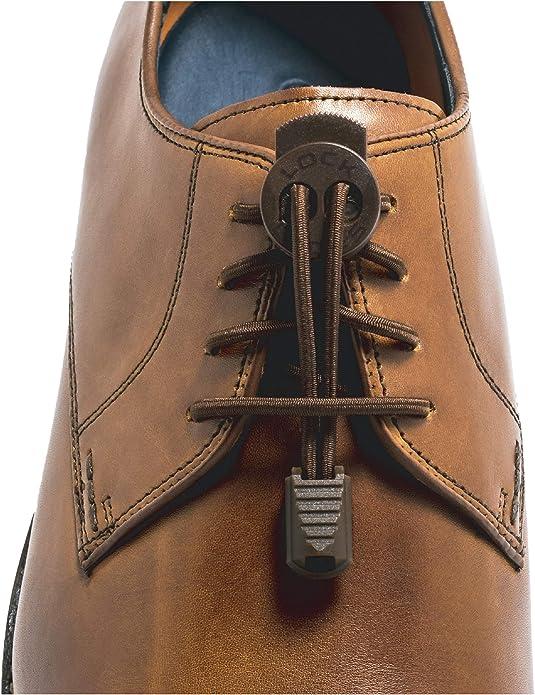 12 Pcs No Tie Shoelace Waterproof Stretchy Dress Shoe Laces Shoestring Casual