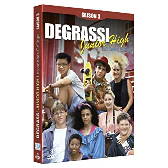 fbb45446613 Degrassi Junior High : Les Années Collège - Saison 3: DVD & Blu-ray ...