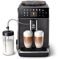 Philips Saeco Espressomachine - 14 Koffievariaties - 4 Gebruiksprofielen - Kleurendisplay - Dubbele Espresso - Latteduo…