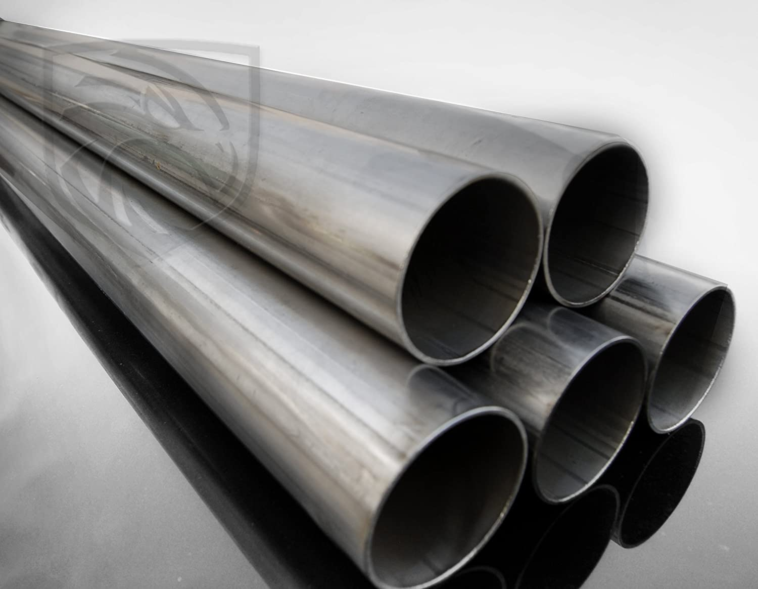 "T304 2.5/"" 63.5 MM APPROX STAINLESS STEEL TUBE EXHAUST PIPE ALL LENGTHS AVAILABLE"