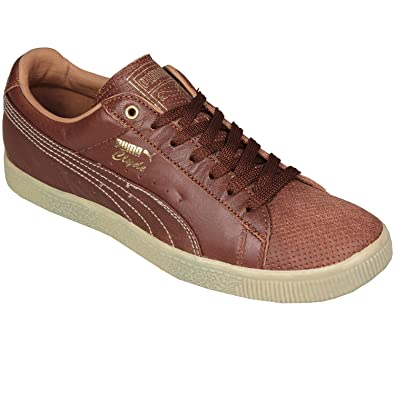 more photos 250cb 7158f Puma Mens Clyde Vintage In Brown