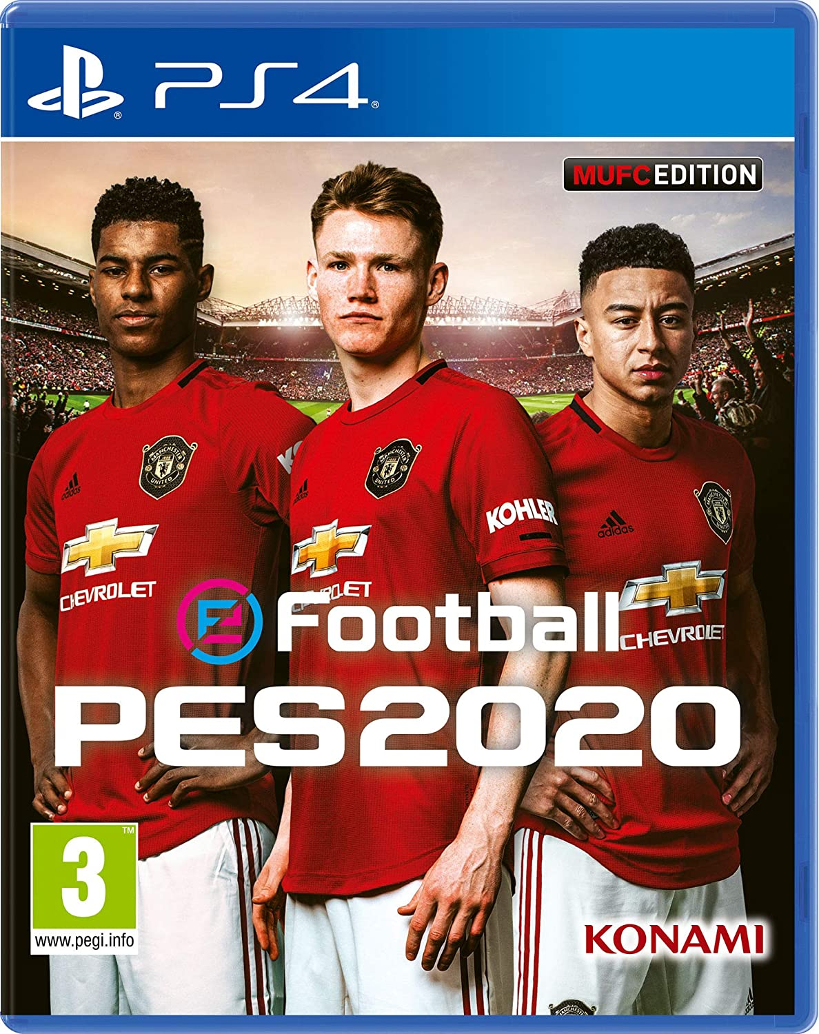 Efootball PES 2020 Manchester United Edition - Playstation 4 ...