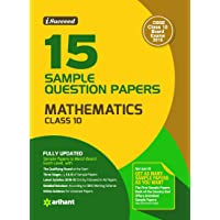 15 Sample Question Papers Mathematics Class 10th CBSE